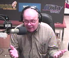 Bill Sturgeon, host of Discussions from the Berkshires on WRRS, 104.3 FM