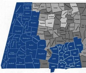 Combined coverage map for both entities. Adjoining communities will likely be added to the new combined area.
