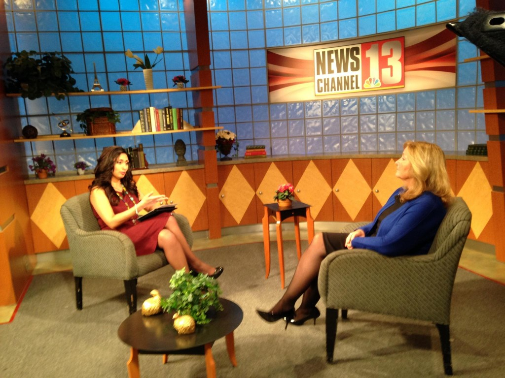 MS Resource Board President Wende Carver speaks with NewsChannel 13's Sabrina Dhammi. Dhammi is serving as emcee for the April 12th Gala at Proctor's Theatre.
