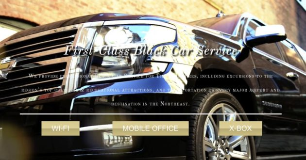 Beautiful New Brand, Website: A-List Luxury Car Services