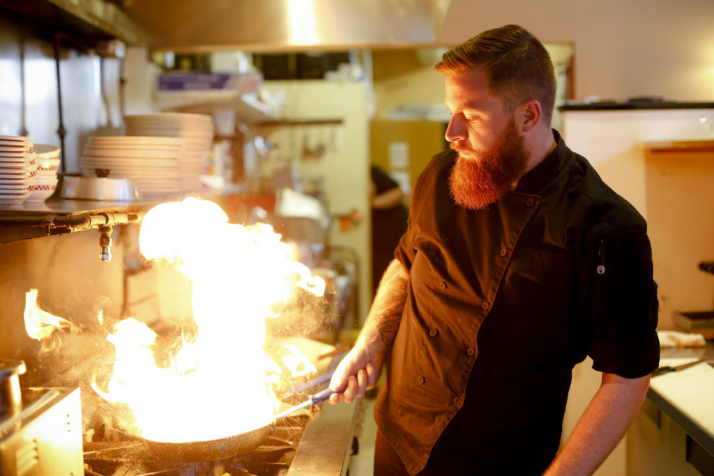 Luke Marion fires up deliciousness - Otto's Kitchen, Pittsfield MA